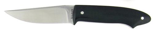 Gary Wheeler Custom Neck Knife Green Micarta