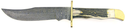 Timber Rattler Bowie Stag & Damascus 119