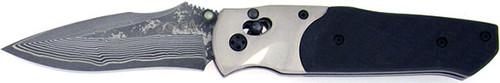 SOG Arcitech Arc Lock Carbon Fiber VG-10 Core Damascus A03