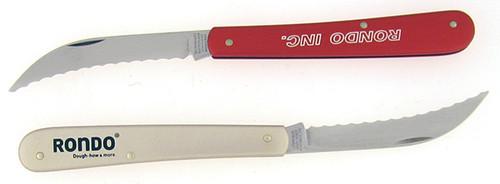 Victorinox Swiss Army Rondo Inc. Serrated Knife Lightweight Aluminum Red