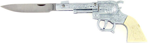 United Cutlery Riders of the Silver Screen Collection Six Shooter Knife 875