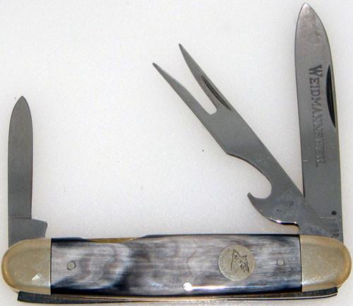 Weidmannsheil 3 Blade Hobo Buffalo Horn