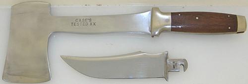Case XX Antique Blade Trader Knife Axe Combo