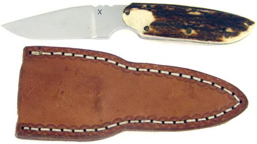 Dick Atkinson Custom X Clip Point Hunter Stag