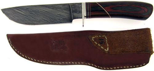 T.R. Lewis TRL Custom Hunter Pakkawood & Damascus