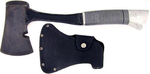 Western Antique Heavy Duty Black Beauty Belt Axe