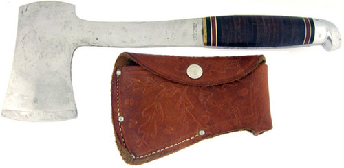 Western Hatchet Stacked Leather