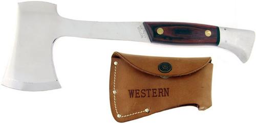 Western Hunter's Axe Rosewood W10