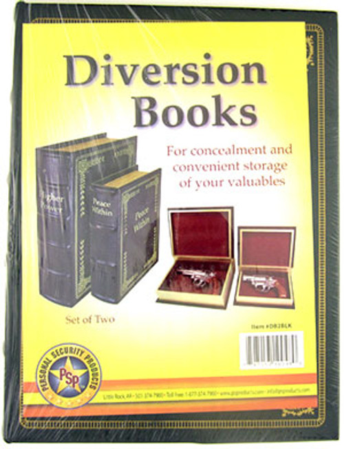 Personal Security Diversion Books Set of Two