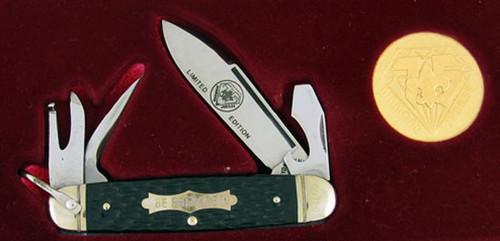 New York Knife Co. Boy Scouts of America Diamond Jubilee Four Blade Scout