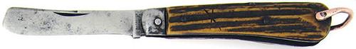 Harrison Brothers & Howson Antique Civil War Era Razor Genuine Stag