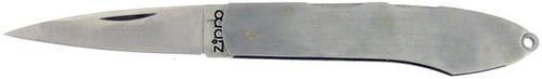 Zippo Z Twin Double Lock Back Stainless Steel 121502