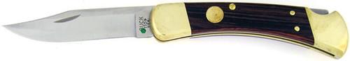 Buck 110 Auto Folding Hunter Macassar Dymondwood Conversion 110BRS-BCV