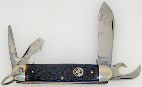 Ulster Boy Scouts of America Four Blade Scout Jigged Delrin