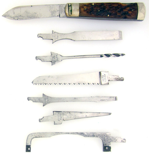 Napanoch Knife Co. Antique 8 Piece Tool Kit