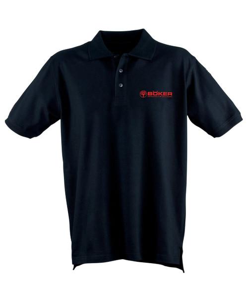 Boker Polo T-Shirt Black Extra Large 09BO134