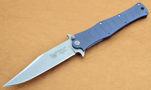 Camillus CUDA Maxx 5.5 Quik Flik Titanium Frame Lock D2 Bowie Blade 2262
