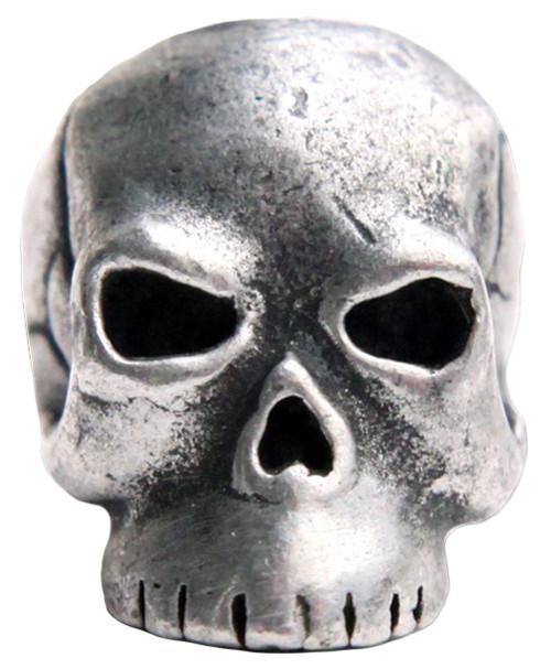 Schmuckatelli Co. Classic Skull Bead Pewter