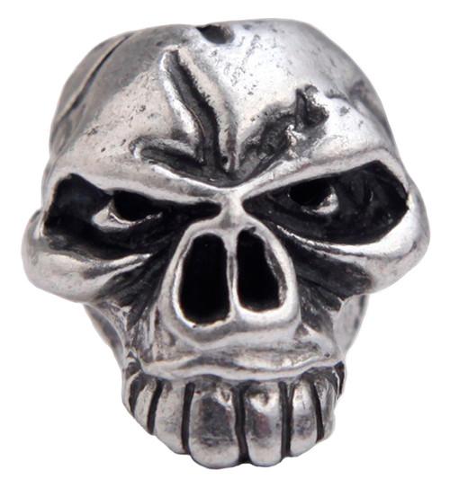 Schmuckatelli Co. Emerson Skull Bead Pewter