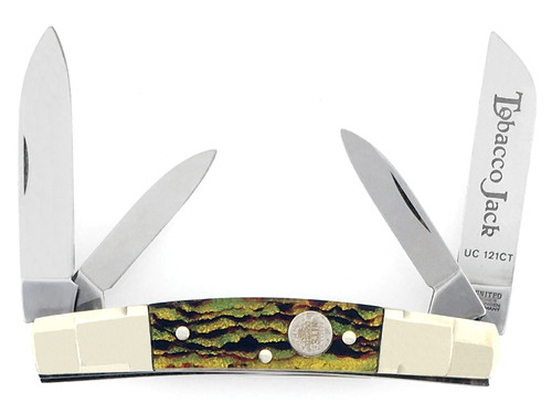 Boker United Congress Tobacco Jack Christmas Tree Celluloid UC121CT