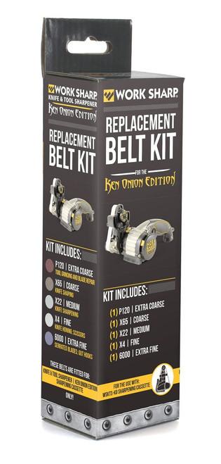Work Sharp Ken Onion Edition Assorted Belt Kit WSSAKO81113