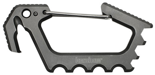 Kershaw Jens Carabiner Gray Ti 1150TI