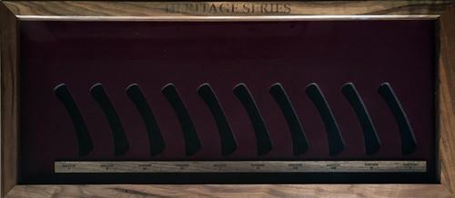 Buck 110 Heritage Series Harley Davidson Folding Hunter Display Case 110HSDC