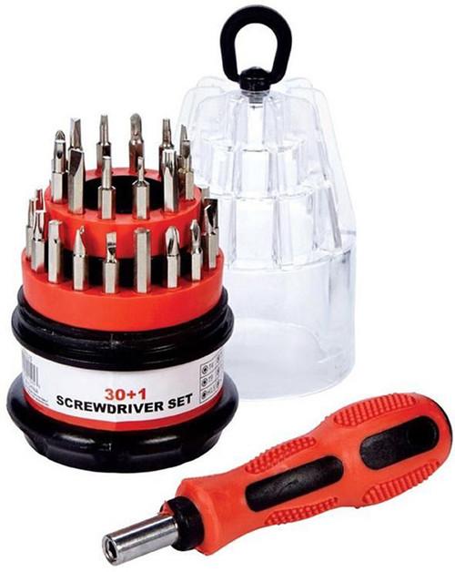 Max Force Tools Compact 30+1 Mini Screwdriver Set 2221525
