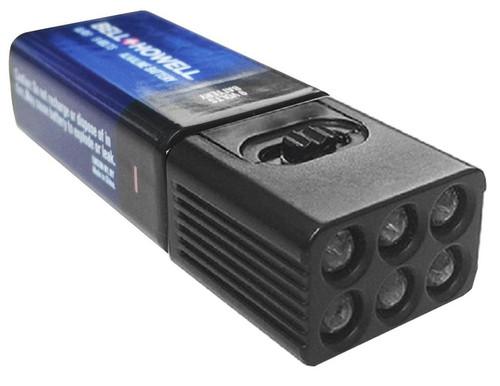 Bell & Howell LED Micro Brite 9 Volt Battery Flashlight 9702MN