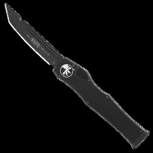 Microtech Halo VI T/E Black DLC Tactical Standard DLC Hardware 250-1DLCT