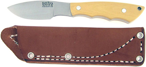 Bark River Mini Canadian Antique Ivory Micarta 03-133M-AI