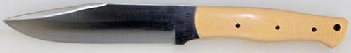 Bark River Big Sky Camp Knife Antique Ivory Micarta 9908-9M-AI