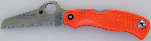 Spyderco Rescue 79MM Orange Serrated C45SOR
