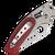 Spyderco Viele Phoenix Ball Bearing Lock Titanium Handle w/ Red G-10 Satin Blade Sprint Run C114GPRD