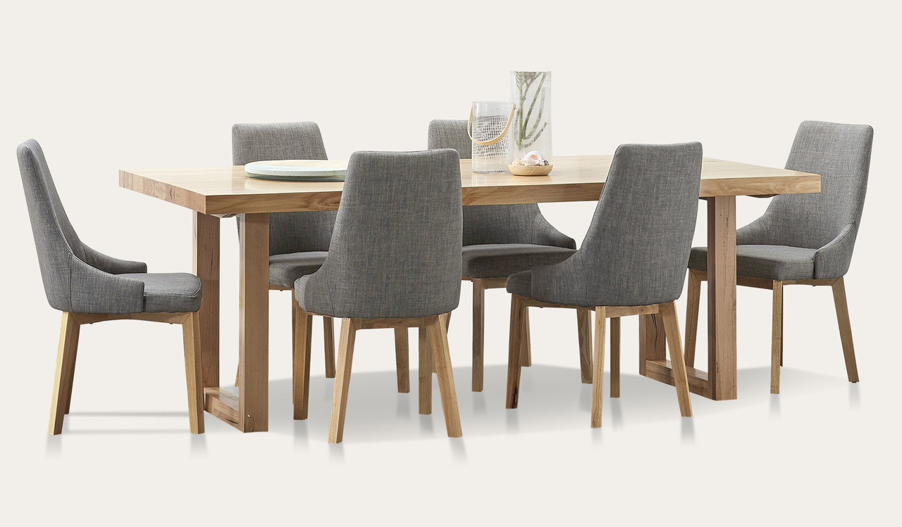 Kennedy Dining Suite In Australian Messmate Timber With