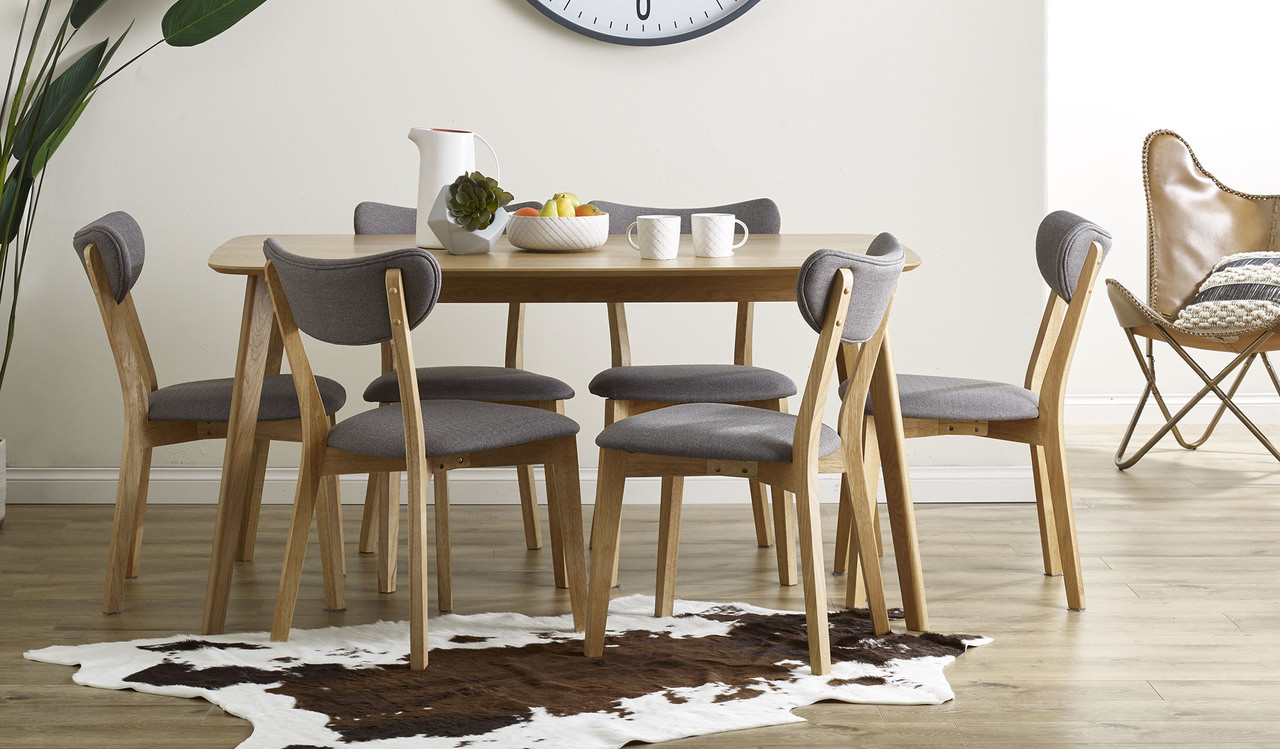 buy online 0d11f d8802 Riga 7 pce dining suite with Rio chairs