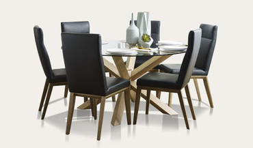 0ace6486c42 Miles dining suite with Penfold chairs RRP  1499 RRP  1