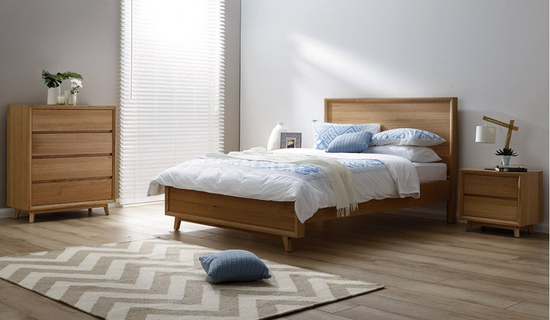 Bounty 4 pce tallboy bedroom suite