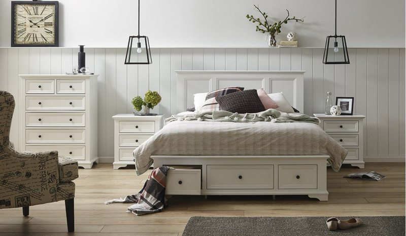 Wentworth 4 pce tallboy bedroom suite