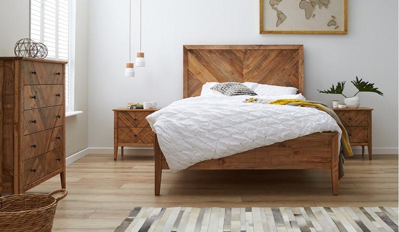 Mosaic 4 pce tallboy bedroom suite