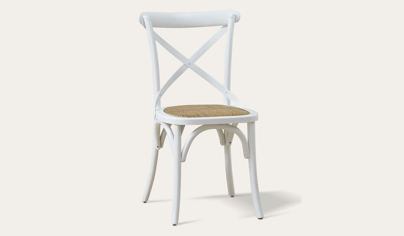 Ibiza dining chair white