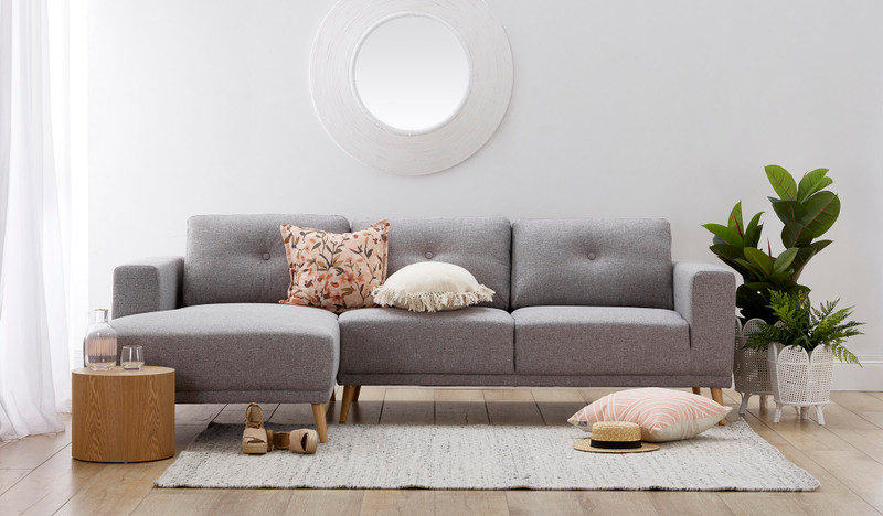 Toorak 3 seat chaise lounge