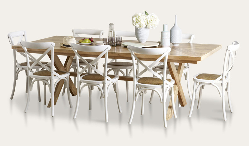 Orbost dining suite with Ibiza chairs