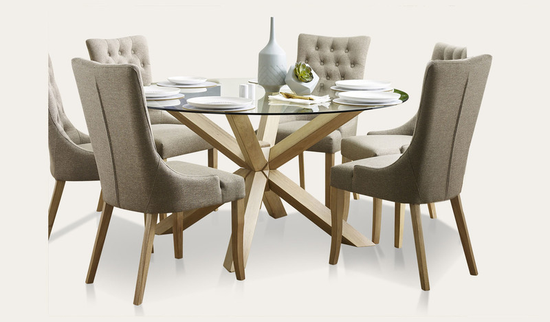 Miles dining suite with Evelyn chairs