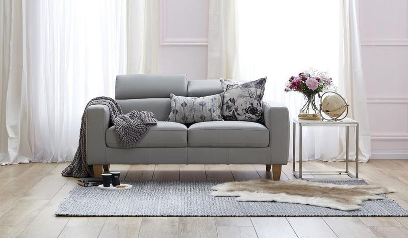 Brando leather 2.5 seat sofa