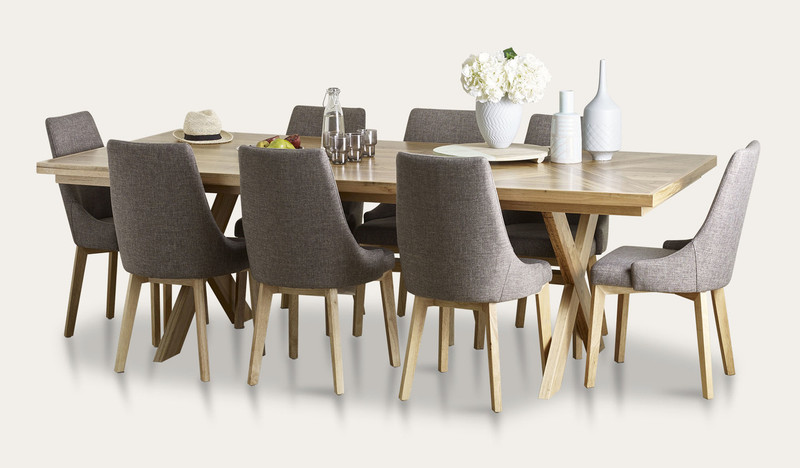 Orbost dining suite with Benson chairs