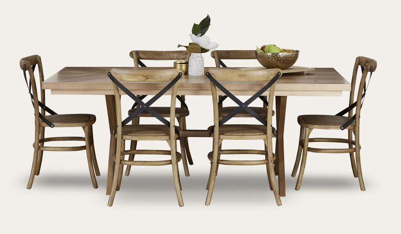 Orbost dining with Corsica chairs