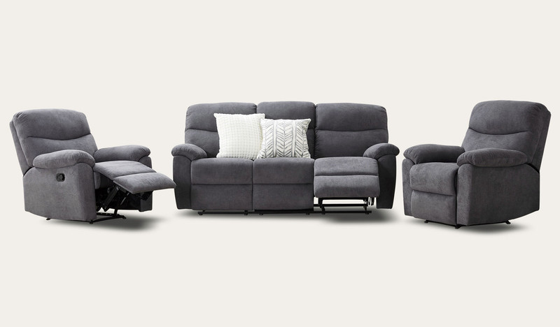 Fabric sofas and lounges