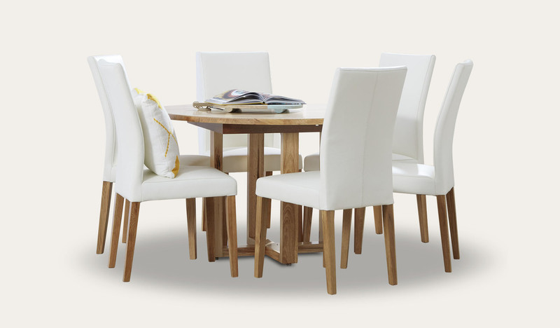 Kennedy round dining suite with Metz chairs