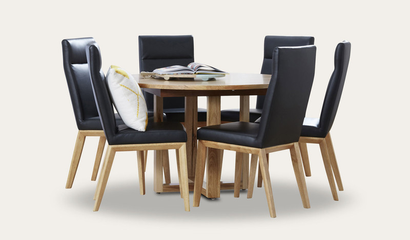Kennedy round dining suite with Penfold chairs